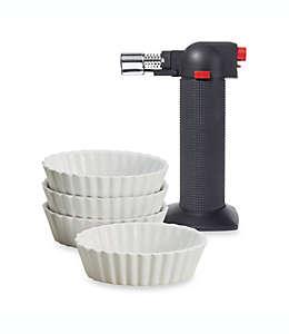 Set para crème brûlée, 5 piezas