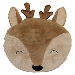 Pet Pillow Deer Throw Pillow in Brown