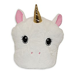 Pet Pillow Unicorn Throw Pillow in White
