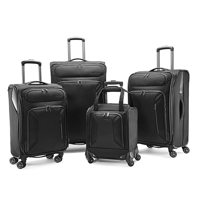 Alternate image 1 for American Tourister® Zoom Checked Luggage Collection