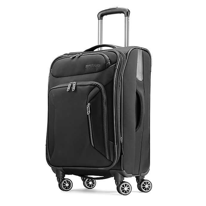 Alternate image 1 for American Tourister® Zoom 21-Inch Spinner Checked Carry On