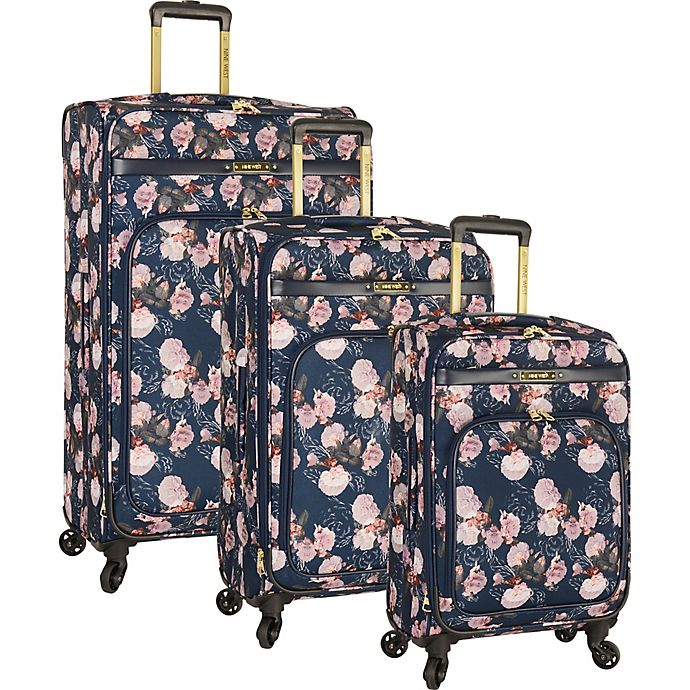236a24066 Nine West® Exclusive Fair 3-Piece Spinner Luggage Set | Bed Bath ...