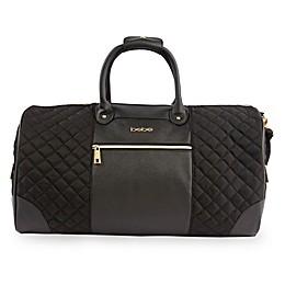 bebe Mandy Weekend Travel Duffle Bag in Black