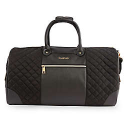 bebe Mandy Weekend Travel Duffle Bag in Black