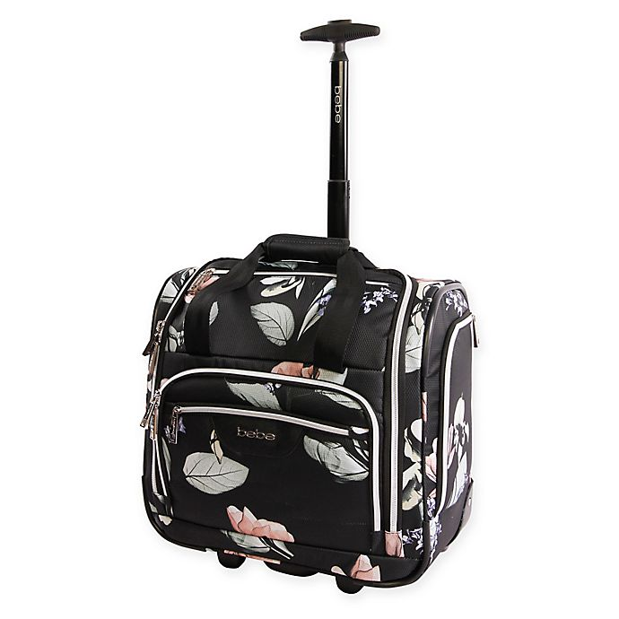 Alternate image 1 for Bebe Valentina 16.5-Inch Wheeled Underseat Luggage