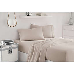 UGG® Sunwashed Twin XL Sheet Set in Silver/Grey