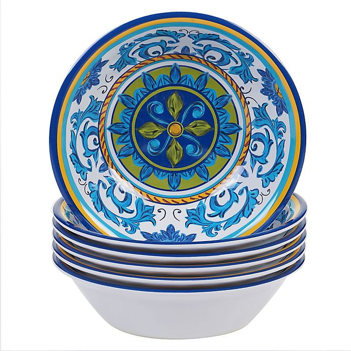 Alternate image 1 for Certified International Lucca All Purpose Bowls (Set of 6)
