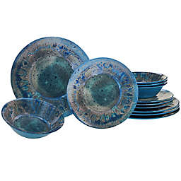 Certified International Radiance Dinnerware Collection in Teal