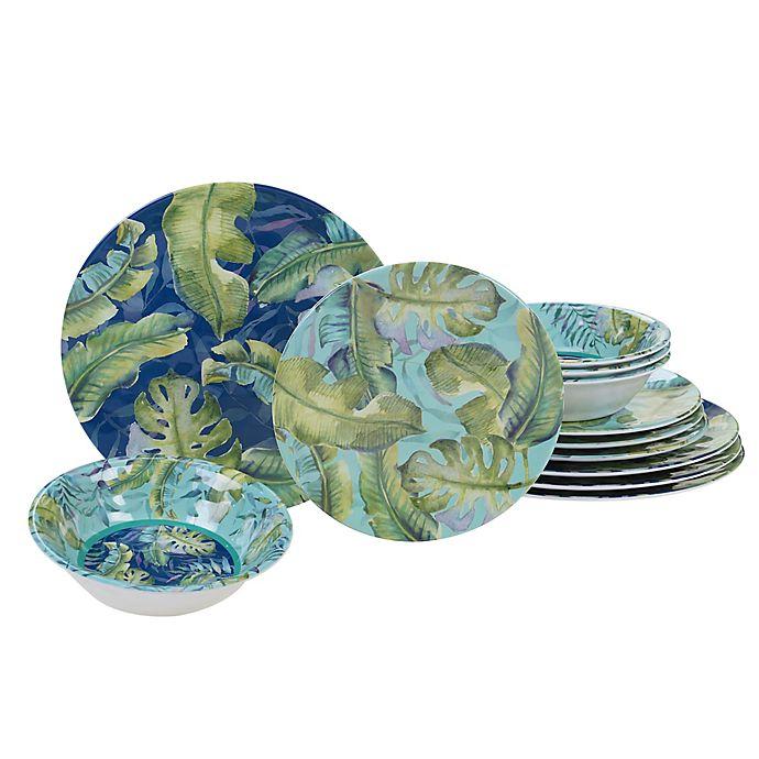 Alternate image 1 for Certified International Tropicana 12-Piece Dinnerware Set