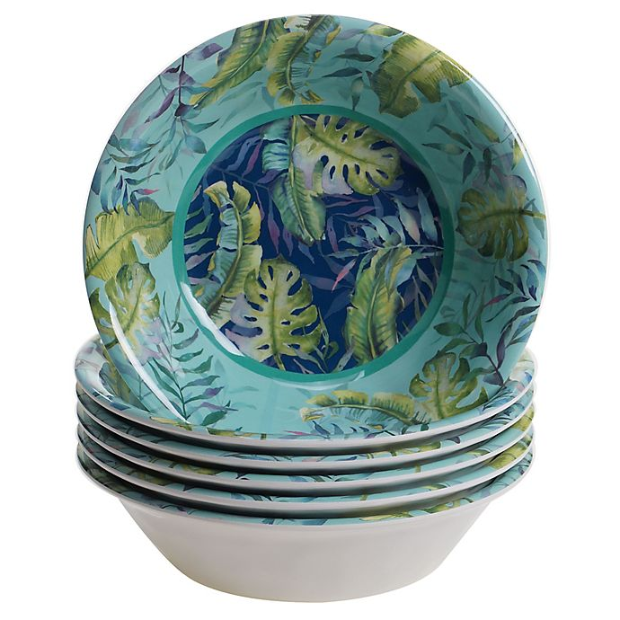Alternate image 1 for Certified International Tropicana All-Purpose Bowls (Set of 6)