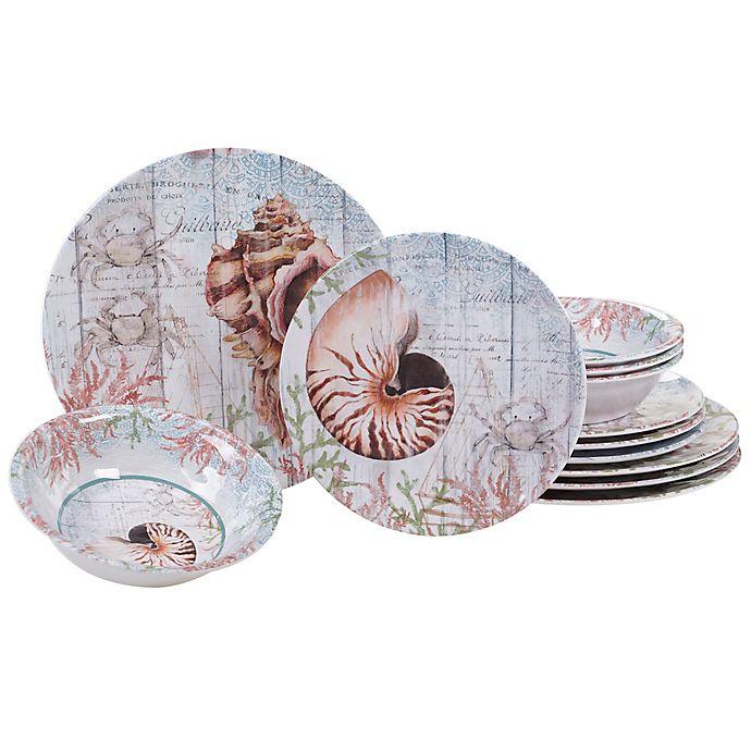 Alternate image 1 for Certified International Sanibel 12-Piece Dinnerware Set