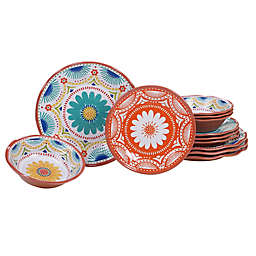 Certified International Vera Cruz 12-Piece Dinnerware Set