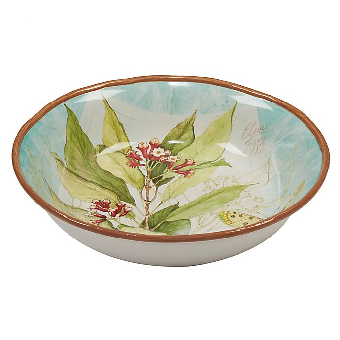 Alternate image 1 for Certified International Herb Blossoms Serving/Pasta Bowl