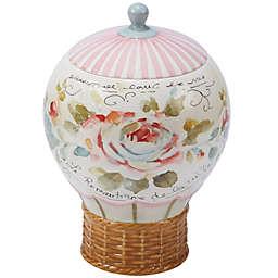 Certified International Beautiful Romance Balloon 3D Cookie Jar