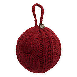 UGG® Classic Cable Knit Christmas Tree Ornament in Redwood