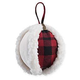 ugg hunter plaid christmas tree ornament