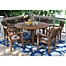 Part of the Outdoor Interiors® Eucalyptus Patio Dining Collection