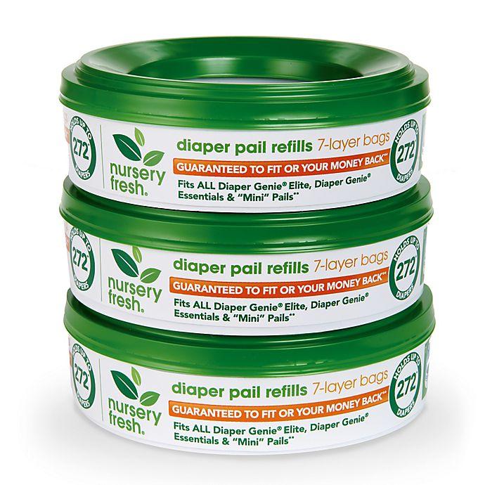 Alternate image 1 for Nursery Fresh 3-Pack Diaper Pail Refills