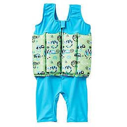 Splash About  Size 4-6 Years Short John Float Suit in Green Gecko