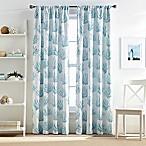 Cocoa Beach 63-Inch Pole Top Window Curtain Panel in Blue
