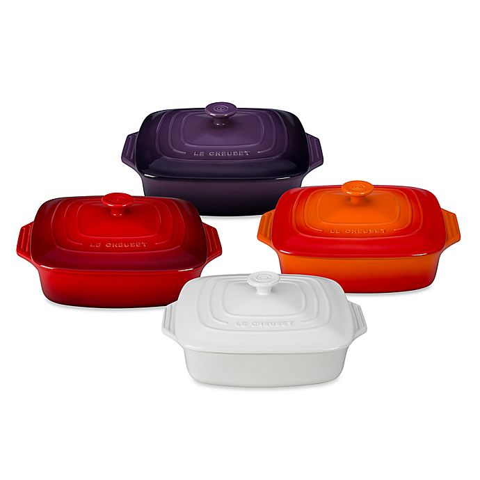 Alternate image 1 for Le Creuset® 2.75 qt. Covered Square Casserole