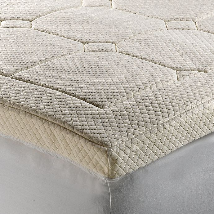 Therapedic Luxury Quilted Deluxe 3 Inch Memory Foam Bed Topper
