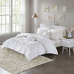 Intelligent Design Adele Metallic Twin/Twin XL Comforter Set