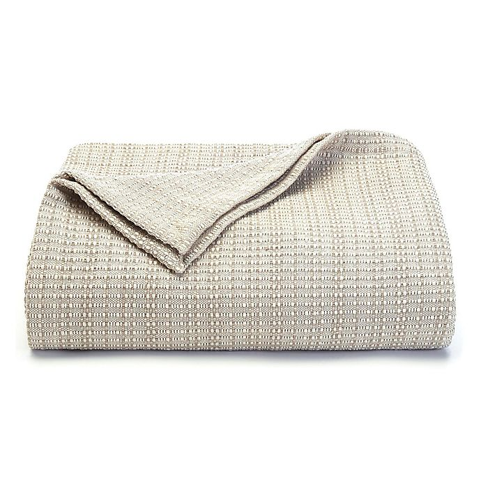 Alternate image 1 for Tommy Bahama® Woven King Blanket in Grey
