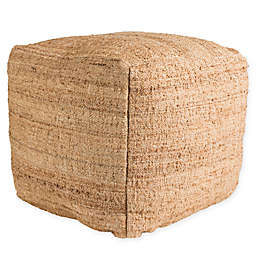 Surya Seaport Pouf in Camel