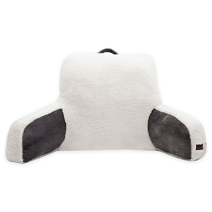 Alternate image 1 for UGG® Clifton Backrest Pillow in Charcoal