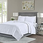 Madison Park Noel Full/Queen Coverlet Set in White