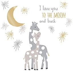 Lambs & Ivy® Goodnight Giraffe Moonbeams Wall Decal