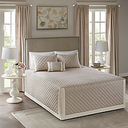 Madison Park Breanna 4-Piece Reversible Bedspread Set