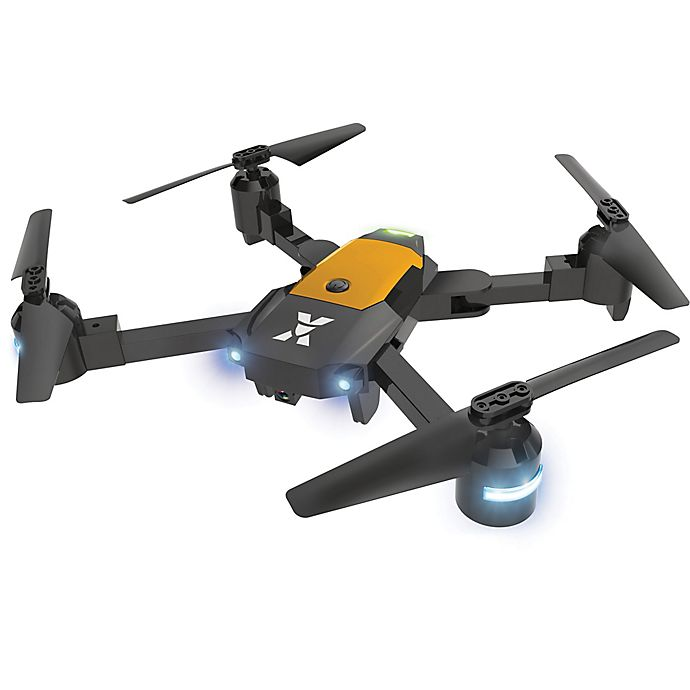 Alternate image 1 for XDrone X with Auto Landing, Auto Takeoff and Auto Hover in Black