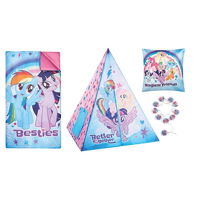 Alternate image 1 for My Little Pony® 4-Piece Teepee Tent Set