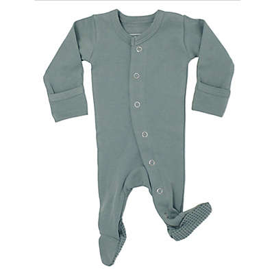 L'ovedbaby® Organic Cotton Footed Overall in Seafoam