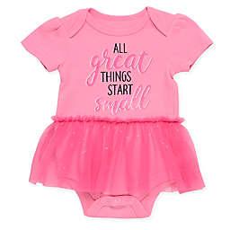 Baby Starters® Tutu Short Sleeve Bodysuit in Pink