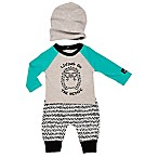 """Baby Starters® Size 9M """"Lil Dreamers"""" Owl Wrap Footie in White"""