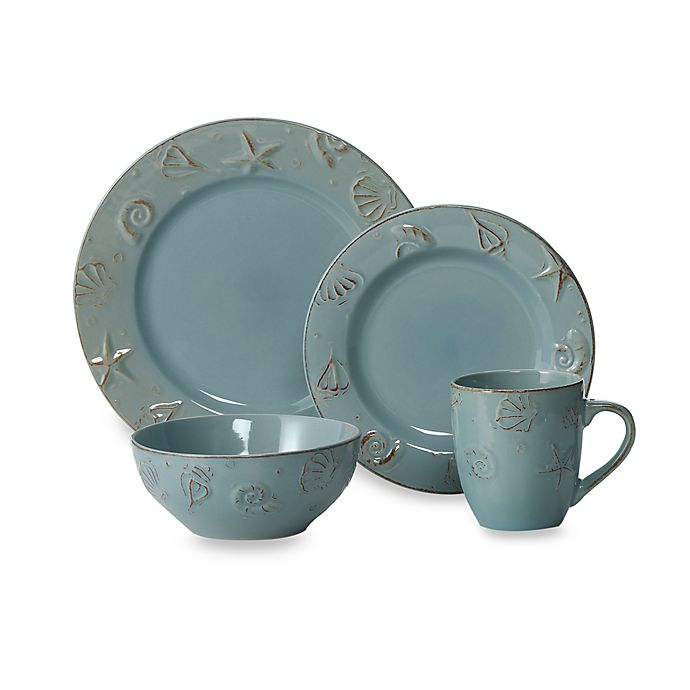 Alternate image 1 for Thomson Pottery Cape Cod 16-Piece Dinnerware Set
