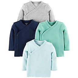 397adfceb9 carter s reg  4-Pack Side-Snap Shirts ...