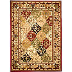 Safavieh Diamond Patchwork 3'3 x 5'3 Accent Rug in Red