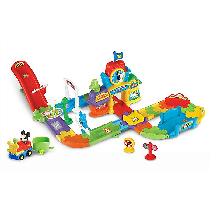 Alternate image 1 for VTech® Go! Go! Smart Wheels® Mickey Choo-Choo Express