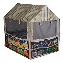 Pacific Play Tents Farm Fresh Play House Tent in Brown