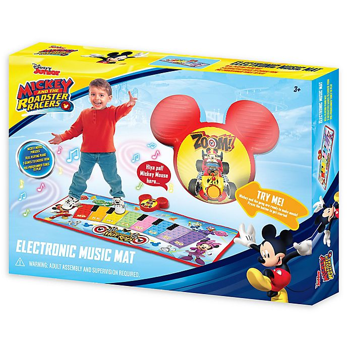 Alternate image 1 for Disney® Mickey and the Roadster Racers Electronic Music Mat
