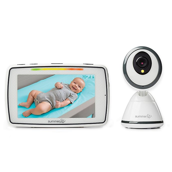Summer Infant Baby Pixel 5 Inch Lcd Touchscreen Color Video Monitor