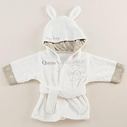 Baby Aspen Size Newborn-9M Baby Bunny Hooded Spa Robe in Ivory