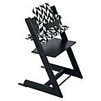 Stokke® 4-Piece Tripp Trapp® High Chair Complete Bundle Set in Black