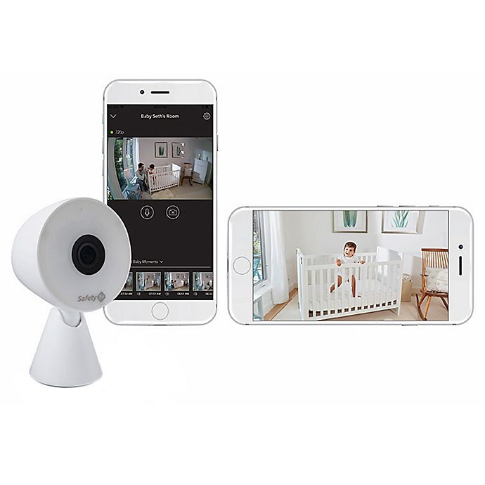 Alternate image 1 for Safety 1st® HD WiFi Baby Monitor in White