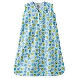 HALO® SleepSack® Small Owl Wearable Cotton Blanket in Turquoise