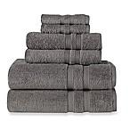 Wamsutta® Ultra Soft 6-Piece Bath Towel Set in Charcoal